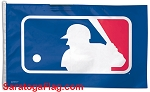 MLB MAJOR LEAGUE  BASEBALL FLAG